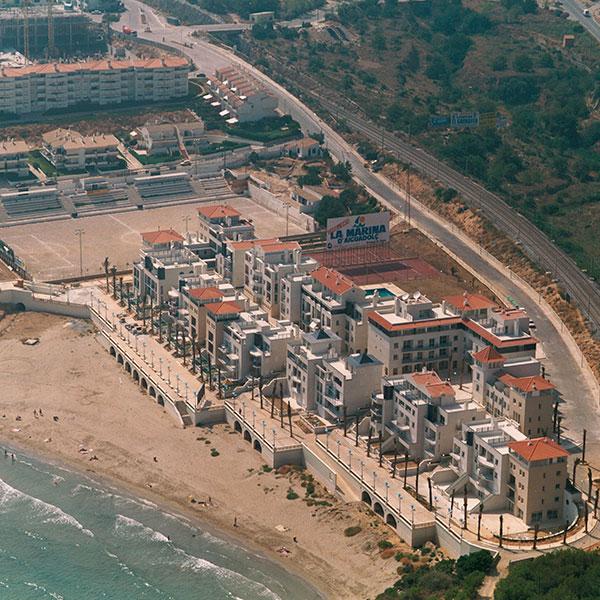 La Marina d'aiguadolç Sitges